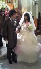 河井夕菜 公式ブログ/結婚式のモデル★旦那様です^^★マイデザインドレス♪ 画像1
