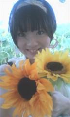 河井夕菜 公式ブログ/ひまわりの中の30歳主婦グラビアアイドルです! 画像1