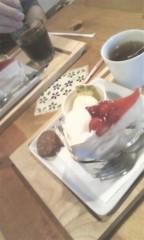 河井夕菜 公式ブログ/近所周り→ケーキカフェ〜♪→ 夕方から会社〜( ̄○ ̄;) 画像2