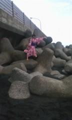 河井夕菜 公式ブログ/最高級品な1日♪ω 浴衣で海で 撮影〜(^O^) 画像2