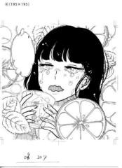 河井夕菜 公式ブログ/鏡月 ふんわり しそれもん〜(*´∇`*)似顔絵書いて頂きました 画像1