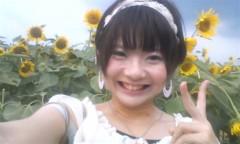 河井夕菜 公式ブログ/ひまわりの中の30歳主婦グラビアアイドルです! 画像3