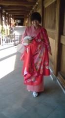 河井夕菜 公式ブログ/お宮参りに行ってきました。お着物きたよ〜 画像3