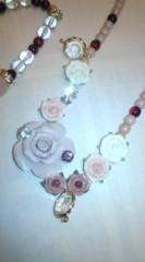 河井夕菜 公式ブログ/作ったよん♪ 妖艶系、薔薇、オラオラ系?な ブレスとネックレス 画像2