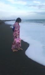 河井夕菜 公式ブログ/最高級品な1日♪ω 浴衣で海で 撮影〜(^O^) 画像1