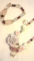 河井夕菜 公式ブログ/作ったよん♪ 妖艶系、薔薇、オラオラ系?な ブレスとネックレス 画像1