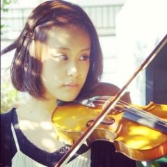 梓未來 公式ブログ/梓未來とバイオリン 画像1