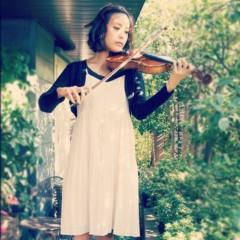 梓未來 公式ブログ/梓未來とバイオリン 画像3