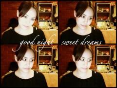 梓未來 公式ブログ/おやすみなさい☆ 画像1