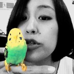 梓未來 公式ブログ/小鳥と友達 画像2