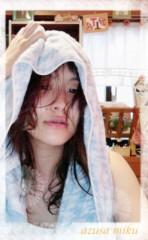 梓未來 公式ブログ/お風呂上がりで☆ 画像1