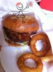 梓未來 公式ブログ/ハンバーガー 画像1