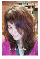 梓未來 公式ブログ/こんな髪型 画像1