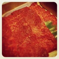 梓未來 公式ブログ/お肉をママと 画像2
