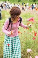 梓未來 公式ブログ/お花摘みの様子 画像1
