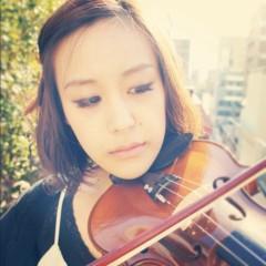 梓未來 公式ブログ/梓未來とバイオリン 画像2