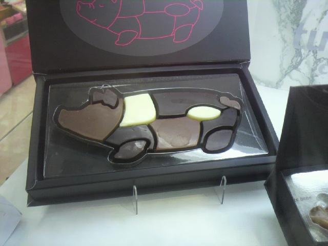 2011年02月05日チョコフェアブタ