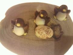 足立陸男 プライベート画像/グルメ足立 2011年02月05日チョコフェアペンギン
