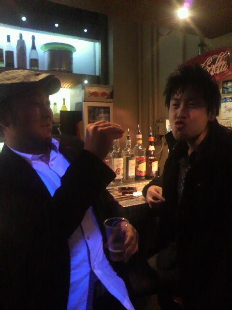 2010年11月30日ライブ後2