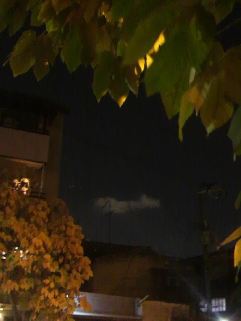 夜に雲さん2
