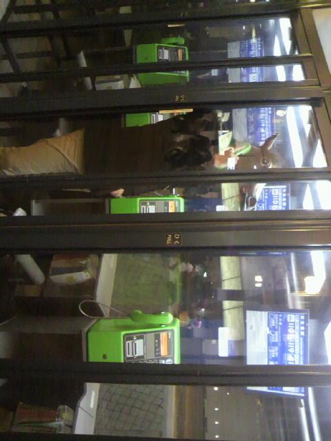 2010年11月14日ウマ男と公衆電話1
