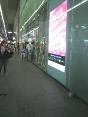 足立陸男 公式ブログ/大阪心斎橋大丸前にて 画像1