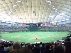 明日果 公式ブログ/野球 画像1