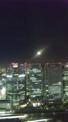 明日果 公式ブログ/昨日の月を 画像1