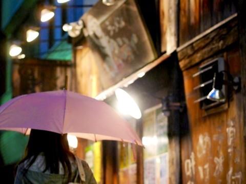 ピンクとラーメン屋