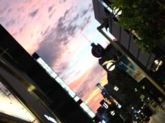 加藤利沙 公式ブログ/綺麗な夕焼け(≧∇≦) 画像1