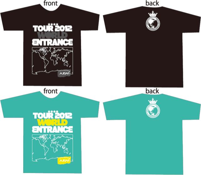 あじTシャツ -WORLD ENTRANCE-