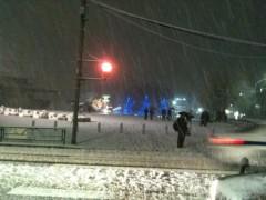 AJISAI 公式ブログ/雪降りましたな 画像1