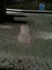 AJISAI 公式ブログ/雪降りましたな 画像2
