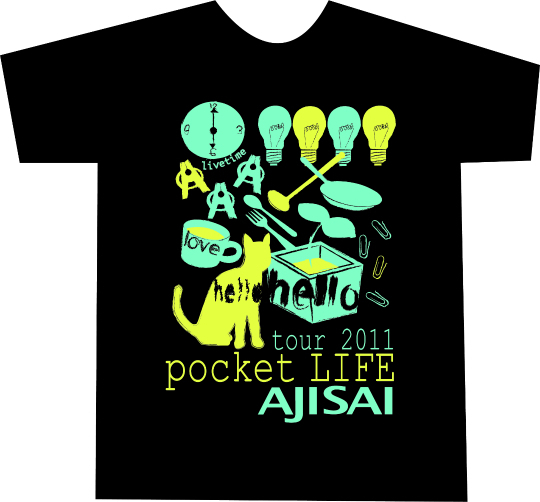 あじTシャツ -pocket LIFE-