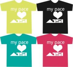 AJISAI プライベート画像 あじTシャツ -my pace-