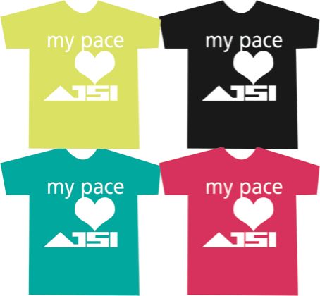 あじTシャツ -my pace-
