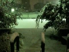 AJISAI 公式ブログ/雪降りましたな 画像3