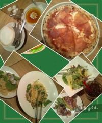 田宮杏菜 公式ブログ/夕食はイタリアン♪ 画像1