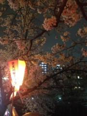 SAKI 公式ブログ/撮影後はお花見に 画像2