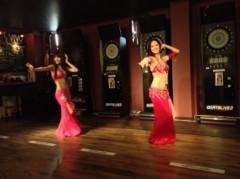 SAKI 公式ブログ/ダーツバーでベリーダンス 画像2