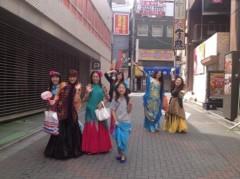 SAKI 公式ブログ/八坂神社でベリーダンス 画像1