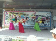 SAKI 公式ブログ/松戸競輪場でベリーダンス 画像1