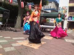 SAKI 公式ブログ/八坂神社でベリーダンス 画像2