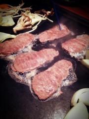 SAKI 公式ブログ/鉄板焼きで 画像2