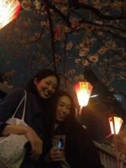SAKI 公式ブログ/撮影後はお花見に 画像1