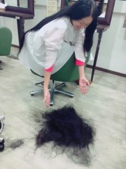 SAKI 公式ブログ/そんなさだこさんの髪の毛を 画像1