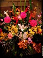 SAKI 公式ブログ/お花頂きました(^ ^) 画像1