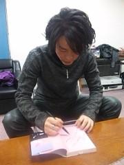 泉忠司 公式ブログ/河村隆一さんを大学に講師としてお招きしました 画像1
