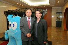 泉忠司 公式ブログ/中国大使館や外務省を表敬訪問! 画像3