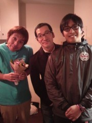 植田誠(うえはまだ) 公式ブログ/五軍奮闘での、はしゃぎっぷり。 画像1